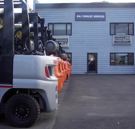 BJLift forklift services building